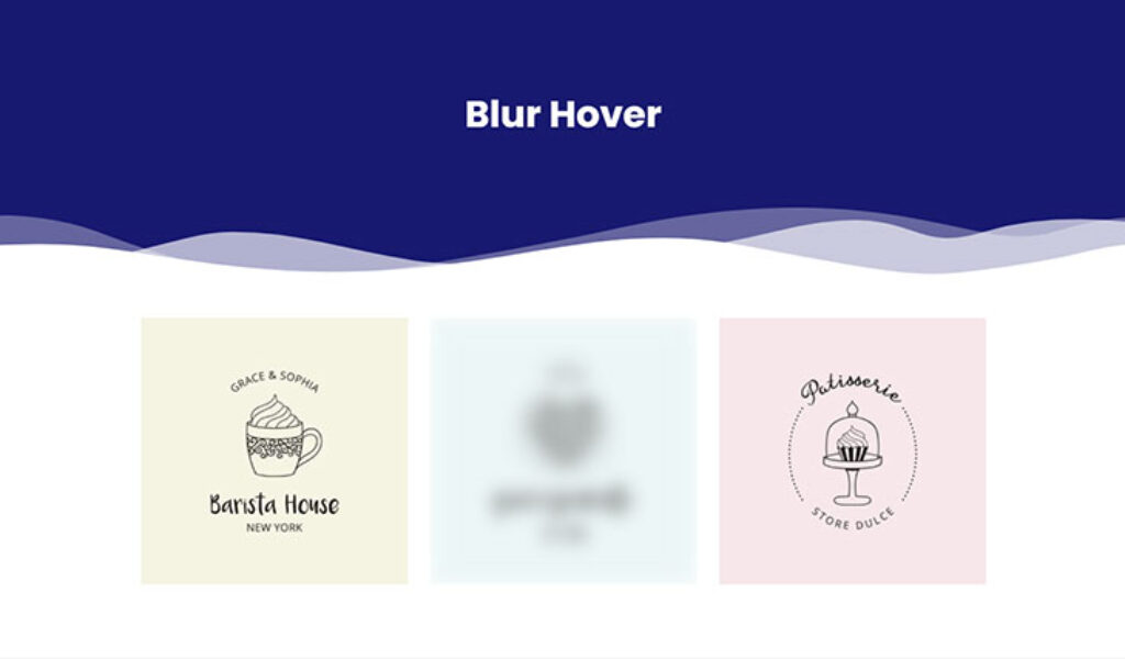 Blur Hover